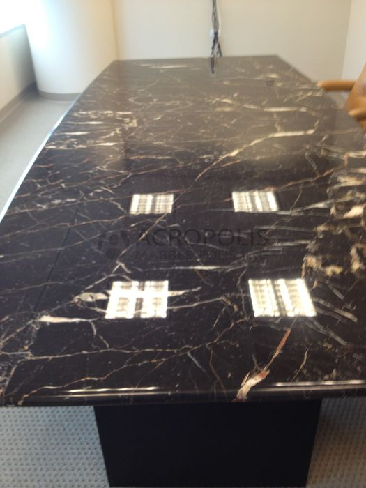 Marbleconferencetable Acropolis Marble Polishing Miami - Conference table miami